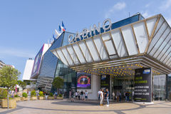 Casino and Palais des Festivals in Cannes, France Royalty Free Stock Photo