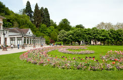 Casino and park in Baden-Baden Royalty Free Stock Images