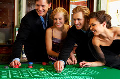 Casino Party Royalty Free Stock Image