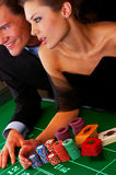 Casino Party Stock Image