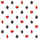 Casino pattern Stock Photography