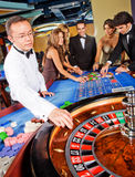 Casino people Royalty Free Stock Image