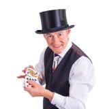 Casino player Royalty Free Stock Photos