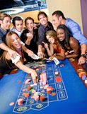 Casino players Royalty Free Stock Image
