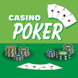 Casino poker Stock Image