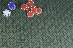 Casino poker background with room for text Stock Image