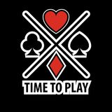 Casino poker logo template. Gamble play cards suits symbols. Of hearts, diamonds, spades and clubs vector isolated icon vector illustration