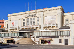Casino of Povoa de Varzim. Royalty Free Stock Photography