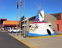 Casino principal indio, Warm Springs, Oregon Imagen de archivo
