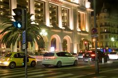 Casino on Promenade de Anglais in Nice Fran Royalty Free Stock Photography