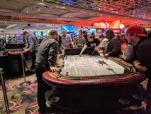 Casino que joga Imagens de Stock