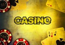 Casino que juega ilustración del vector
