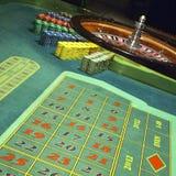 Casino, roleta Fotos de Stock