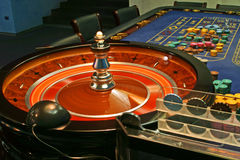 Casino. Roulette Photographie stock