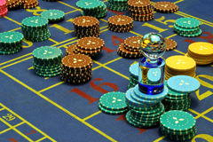 Casino. Roulette Photo libre de droits