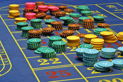 Casino. Roulette Royalty Free Stock Photos
