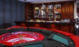 Casino: roulette royalty-vrije stock afbeelding