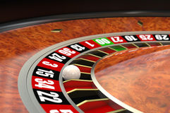 Casino Roulette royalty free illustration
