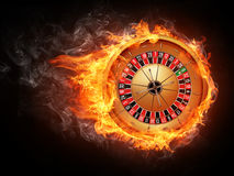 Casino Roulette. On White Background. Vector EPS8 Royalty Free Stock Image