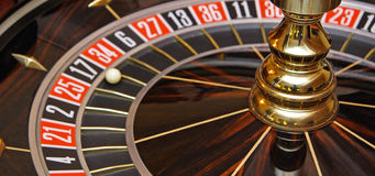 Casino Roulette Royalty Free Stock Image