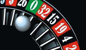 Casino roulette background Royalty Free Stock Photography