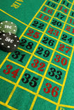 Casino roulette chips Royalty Free Stock Images