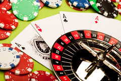 Casino Roulette Concept Royalty Free Stock Image