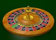 Casino Roulette - 3D Stock Image