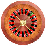 Casino roulette Royalty Free Stock Photos
