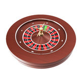 Casino roulette isolated on a white background Stock Photo