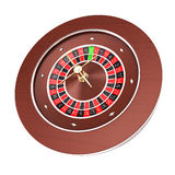 Casino roulette isolated on a white background Stock Photos