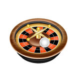 Casino roulette isolated on white background Stock Photos