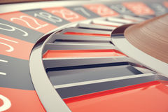 Casino Roulette Las Vegas Gambling Concept. Playing in a Casino Conceptual 3d rendering Royalty Free Stock Photography