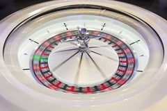 Casino roulette in motion Stock Image