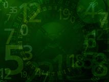 Casino roulette numbers background. Casino roulette numbers dark background Royalty Free Stock Images