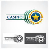Casino Roulette Symbol Royalty Free Stock Photo