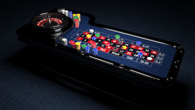 Casino Roulette Table Stock Photos