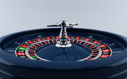 Casino, roulette wheel Royalty Free Stock Images