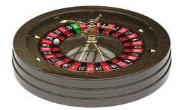 Casino roulette wheel Stock Image