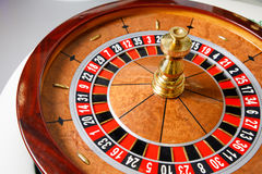 Casino roulette wheel. No token royalty free stock photos