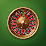 Casino roulette wheel Royalty Free Stock Photos