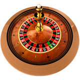 Casino Roulette on white Royalty Free Stock Image
