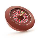 Casino Roulette on a white background Stock Image