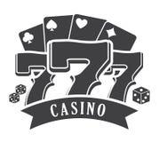 Casino royal games design Stock Photography