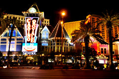 Casino Royale Hotel in Las Vegas, United States Stock Image