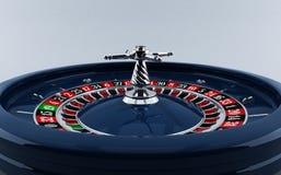 Casino, rueda de ruleta Imágenes de archivo libres de regalías
