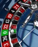Casino, rueda de ruleta Imagenes de archivo