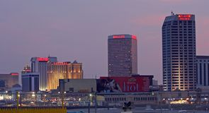 Casino's in Atlantic City Stock Afbeeldingen