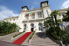 Casino Sanremo royalty free stock image