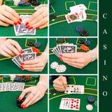 Casino set Royalty Free Stock Photo